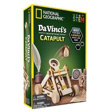 National Geographic Da Vinci's Inventions Catapult Building Set
