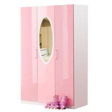 Mirror 3 Door Wardrobe