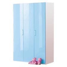 Happy 3 Door Wardrobe