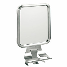 Silver Forma Suction Mirror