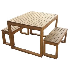 Venetian 3 Piece Outdoor Table Set