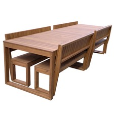 Large Lazy Boy Outdoor Table Set