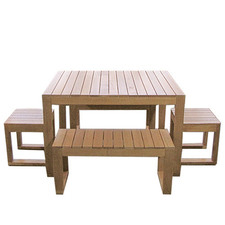 6 Seater Exemplar 5 Piece Outdoor Table Set