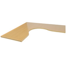 Basix Corner Desk Tabletop