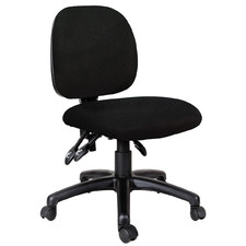 Black Heino High Back Office Chair
