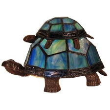 Piggyback Turtle Table Lamp