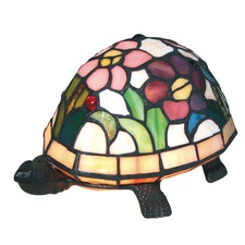 Rose Turtle Table Lamp