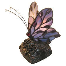 Helios Tiffany Butterfly Table Lamp