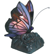 Hektor Tiffany Butterfly Table Lamp