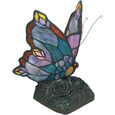 Edu Tiffany Butterfly Table Lamp