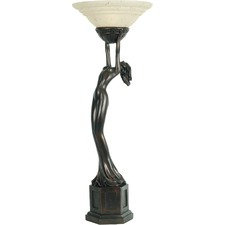 Art Deco Lady Uplight Table Lamp