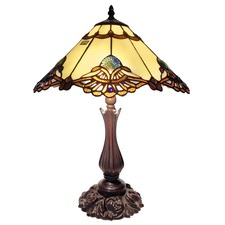 Large Benita Leadlight Table Lamp
