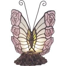 Rose Butterfly Table Lamp