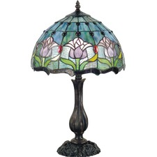 Mauve Tulip Table Lamp