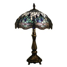 Dragonfly Leadlight Table Lamp