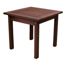 Sanders Small Outdoor Timber Side Table