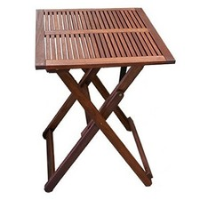 Square Timber Folding Table