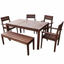 6 Seater Outdoor Dining Table Set I