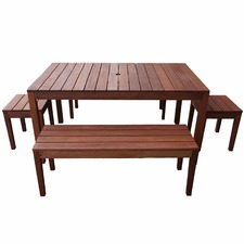 6 Seater Outdoor Dining Table Set II