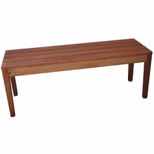 2 Seater Outdoor Wooden Bench