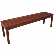 3 Seater Outdoor Wooden Bench