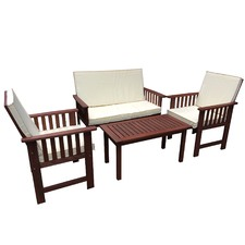 4 Seater Matahari Outdoor Lounge & Coffee Table Set