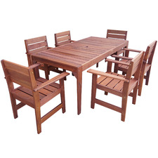 6 Seater Lazio Outdoor Dining Set