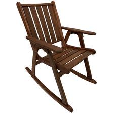 Mada Shorea Wood Summer Rocking Chair