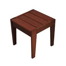 Lazio Shorea Wood Outdoor Side Table