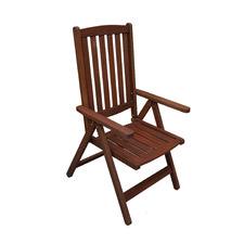 Lazio Shorea Wood Outdoor Folding Chair