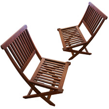 Island Folding Chair (Set of 2)