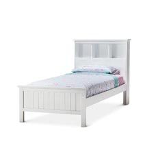 White Bennett Storage Bed