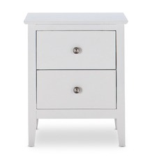 Camila 2 Drawer Bedside Table