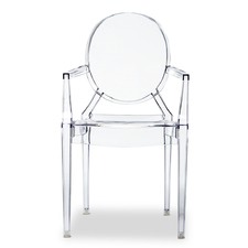 Replica Philippe Starck Louis Ghost Arm Chair (Set of 4)