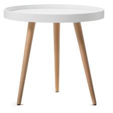 Jokum Scandinavian Style Tray Side Table
