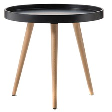 Jokum Scandinavian Style Tray Side Table