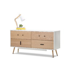 White & Oak Sideboard