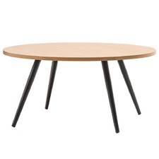 Ash & Black Dizzy Coffee Table Round