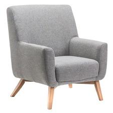 Grey & Ash Asta Armchair
