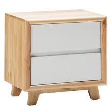 Cube 2 Drawer Bedside