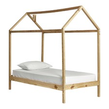 Wooden House Single Bed