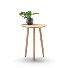 Nochio Scandi Oak Veneer Round Side Table