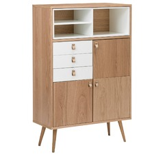 Abbey Oak Display Cabinet