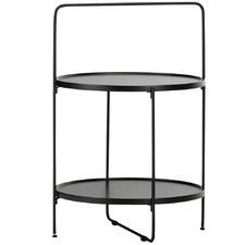 Black Frae Side Table