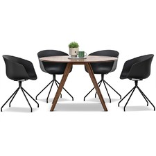 Milari Dining Table & Hee Welling Replica Chairs Set