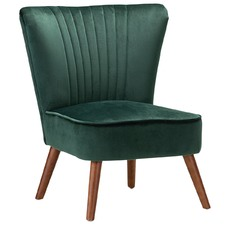 Ayana Velvet Slipper Accent Chair