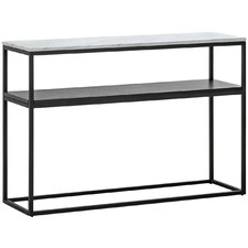 120cm Franceso Cultured Marble-Top Console Table