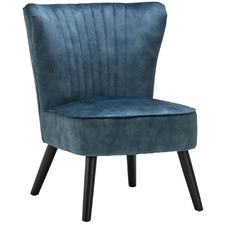 Ayana Velvet Slipper Accent Chair