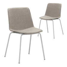 Carlie Fabric Dining Chairs (Set of 2)