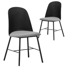 Lexi Fabric Dining Chairs (Set of 2)